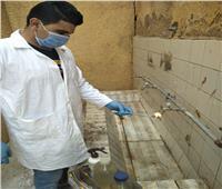 مياه المنوفية: تشكيل لجان لرفع عينات مياه إضافية بمختلف مدارس المحافظة