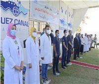 صور| الفريق أسامة ربيع يشيد بدور العاملين بمستشفيات هيئة قناة السويس
