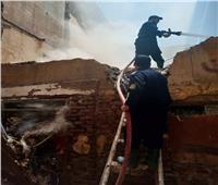 السيطرة على حريق بمنزل مهجور بطنطا