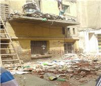 صور| انهيار حوائط منزل سكني بالمحلة دون خسائر في الأرواح