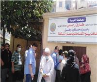 اقبال متزايد من المواطنين على منفذ بيع كمامات «مستقبل وطن»