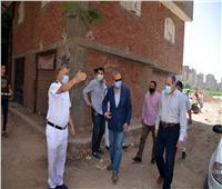 محافظ القليوبية يتابع إزالة المباني المخالفة بمدينة بنها