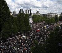 صور| تظاهرات فرنسية ضد العنصرية تجوب شوارع باريس