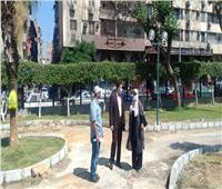 نائب محافظ القاهرة يتفقد أعمال تطوير حديقة «ابن سندر»
