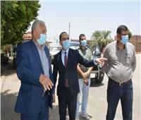 نائب محافظ سوهاج يتفقد مشروعات برنامج التنمية المحلية لصعيد مصر