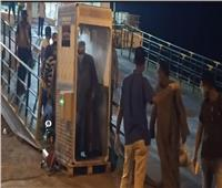 وزير النقل يتابع وصول العبارة القاهرة قادمة من السعودية وعلى متنها 283 مصريا
