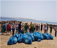 «هيبكا» تقود حملات نظافة للشواطئ بالبحر الأحمر