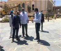 وزير السياحة والآثار يتفقد متحف العاصمة الإدارية الجديدة