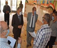 محافظ المنيا يتفقد لجان امتحانات الثانوية العامة لمتابعة كافة التجهيزات