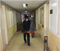 محافظ أسوان: استمرار أعمال التطهير والتعقيم لمواجهة انتشار فيروس كورونا المستجد
