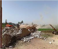 محافظ أسوان: إزالة 28 حالة تعدٍ على الأراضي الزراعية
