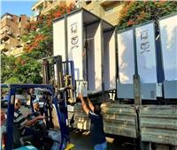 صور| وصول كمائن التعقيم إلى لجان الثانوية العامة بمحافظة القاهرة
