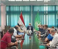 محافظ القلبوبية يبحث مع جهاز القاهرة الفاطمية مشاكل تنفيذ الممشي النيلي