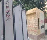 توزيع كبائن التعقيم الذاتي على مدارس عين شمس استعدادا لامتحانات الثانوية العامة