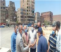 نائب محافظ القاهرة: إنارة كافة المحاور الجديدة بالمطرية