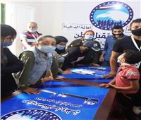 حزب مستقبل وطن يوزع 1000 شنطة دواء بالمجان على الأيتام بالإسكندرية
