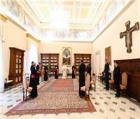 البابافرنسيس يلقي عظته الأسبوعية في ساحة القديس بطرس