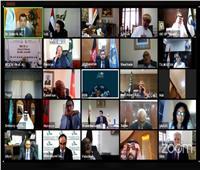 انطلاق أعمال المؤتمر الاستثنائي الافتراضي لوزراء الثقافة في الدول الأعضاء بالإيسيسكو