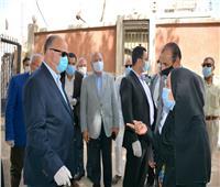 محافظ القاهرة يتفقد مستشفى حميات العباسية