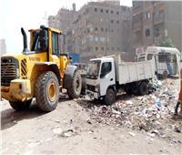 محافظ القليوبية يتابع إزالة الإشغالات بشارع أحمد عرابي بشبرا الخيمة