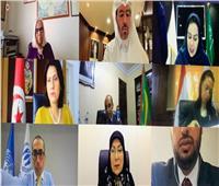 مايا مرسي: الدولة المصرية اتخذت إجراءات سريعة للحد من آثار كورونا