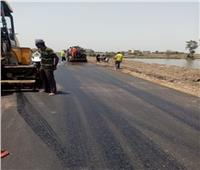 تنفيذ 29 مشروعا لرصف الطرق بالشرقية بتكلفة مليار و729 ألف جنيه