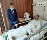"""القوى العاملة: جراحة عاجلة للطبيب المعتدى عليه بـ""""كسر رجله"""" بالكويت"""