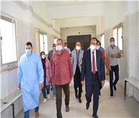 نائب محافظ المنيا يتابع الخدمة بمستشفيات مغاغة ويحيل طبيبة للتحقيق لرفضها العمل