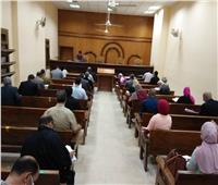 إجراءات وقائية مشددة من مجلس الدولة ببورسعيد لعودة العمل