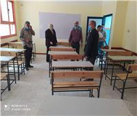 نائب محافظ القاهرة يتفقد مدارس مصر الجديدة استعداداً لامتحانات الثانوية العامة