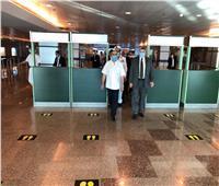 وزير الطيران المدني يتفقد مطار الغردقة الدولى