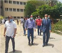 محافظ القليوبية يتفقد العمل في مستشفى صدر المرج