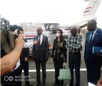سفيرتنافي بوجمبورا تسلم المساعدات المصرية الطبية إلى بوروندي لمواجهة كورونا