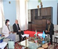 مصر تشارك في مراسم تنصيب رئيس بوروندي