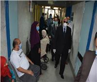 محافظ القاهرة يتفقد مستشفى جراحات اليوم الواحد بالمرج