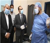 نائب محافظ سوهاج يتفقد مستشفى البلينا المركزي