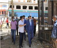 محافظ سوهاج يتفقد بوابة مرسى ناصر السياحي.. وتطوير الحديقة المتحفية