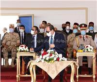 رسائل «ردع» قوية للرئيس السيسي من المنطقة الغربية العسكرية