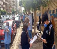 وصول أوراق امتحانات اللغة العربية بلجان القاهرة الجديدة