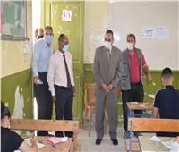 شوشة يتفقد لجان امتحانات الثانوية العامة والأزهرية بمدينة العريش