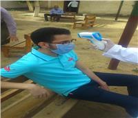 لجان الصحة تتابع مهام تعقيم الطلاب بلجان الثانوية العامة بالمنوفية