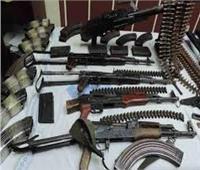 ضبط 182 قطعة سلاح ناري و 220 قضية مخدرات وتنفيذ 76867 حكم قضائى متنوع