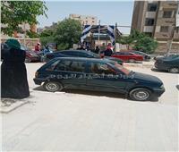صور.. الأمهات في انتظارا خروج أبناءهم من امتحانات الثانوية