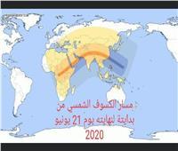 القبة السماوية بالإسكندرية ترصد كسوف الشمس لايف على الفيس بوك