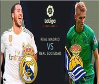 بث مباشر  مباراة ريال مدريد وسوسيداد في الليجا