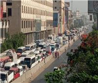 صور  شلل مروري تام بطريق « مصر – الإسكندرية » الزراعي