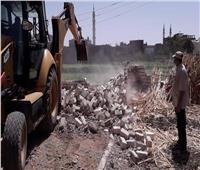 إزالة 15 حالة تعدي على الأراضي الزراعية وأملاك الدولة بسوهاج