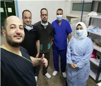 نجاح إجراء أول عملية جراحية لمريضة كرونا بمستشفي كفر الدوار العام