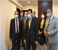 وزير الشباب يطلق الحاضنة الأولى لريادة الأعمال بمركز شباب الجزيرة