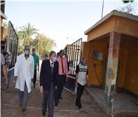 محافظ المنيا يدرس إنشاء مزرعة متكاملة لتسمين المواشي بمركز سمالوط